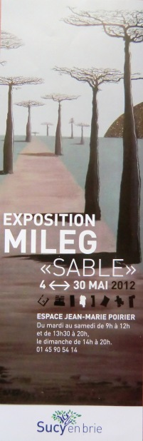 Affiche Expo Sucy