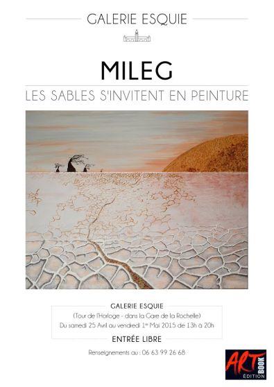 affiche Mileg - Esquié