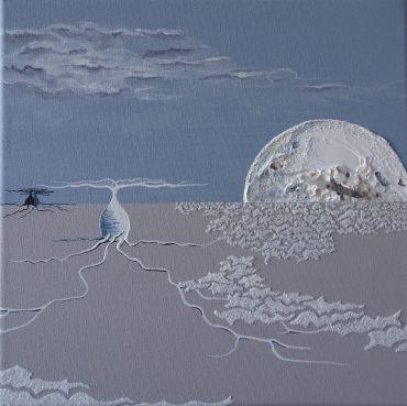"""""""Impression-Uyuni-4"""" - 30 x 30"""