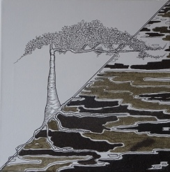 Ma terre mes racines - solitaire - 30 x 30