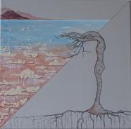 Ma terre mes racines - offrande - 30 x 30