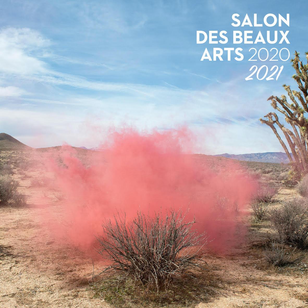 Invitation Salon Beaux Arts 2020 verso